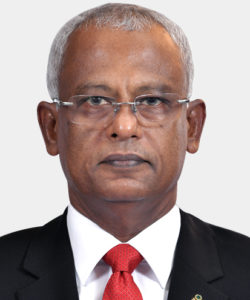 His Excellency Ibrahim Mohamed Solih