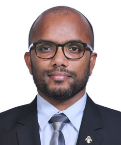 Ibrahim Ameer - Minsiter of Finance and Treasury